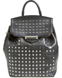 Alexander Wang Women'S 'Prisma - Eyelet Studded' Leather Backpack - Black - Lyst