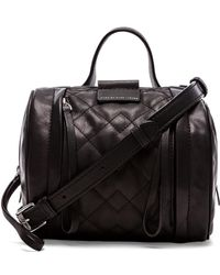 Marc By Marc Jacobs Moto Quilted Barrel 18 Bag - Lyst