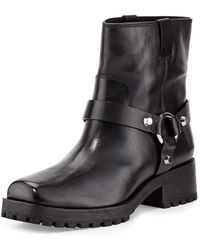 Michael Kors Macey Moto Boot - Lyst