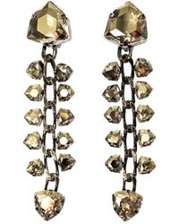 Lanvin Laura Crystal Drop Earrings - Lyst