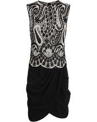 Giambattista Valli Paisley Stretch Knit Dress - Lyst