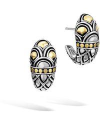 John Hardy Legends Naga Shrimp Earrings Lyst