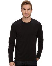 Calvin Klein Solid Quilted Crew Neck Sweatshirt - Lyst