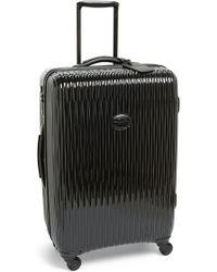 Longchamp 'Medium Fairval' Four-Wheel Hard Shell Suitcase - Lyst