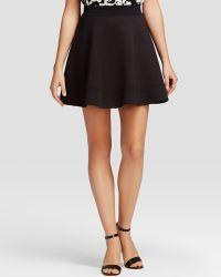 Kate Spade Scuba Circle Skirt - Lyst