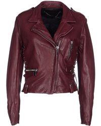 Barbara Bui Jacket purple - Lyst