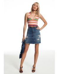 Genetic Los Angeles Gordon High-Waisted Skirt - Lyst