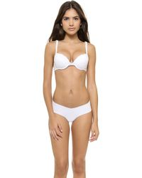 Cosabella Never Say Never Push Up Bra  White - Lyst