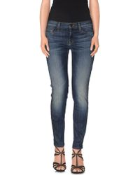 Hudson | Denim Trousers | Lyst