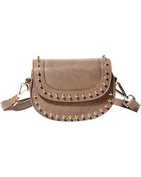 Big Buddha Zola Studded Crossbody Bag - Lyst