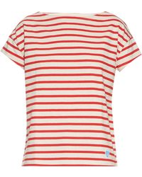 Orcival - Breton-stripe Cotton T-shirt - Lyst