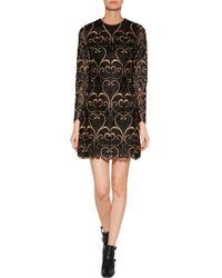 Valentino Lace Mini-dress - Lyst