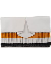 Vionnet White Clutch - Lyst