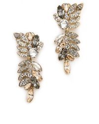 Jenny Packham - Bianca Ii Earrings Silk - Lyst