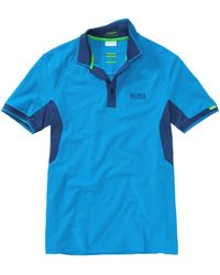 BOSS Green - Golf Polo Shirt Paddy Mk From The Martin Kaymer Collection - Lyst