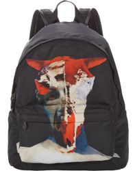 Givenchy Abstract Skull Print Backpack - Lyst