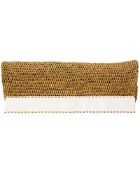 Michael Kors Collection Santorini Foldover Clutch - Lyst