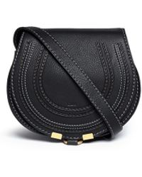 Chloé 'Marcie' Mini Leather Crossbody Bag - Lyst