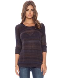 Autumn Cashmere Mesh Space Dye Sweater - Lyst