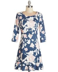 Sunny Girl Pty Lltd - Laughter Filled Lunch Dress - Lyst