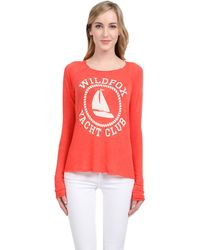 Wildfox Sail On Baggy Beach Jumper - Lyst
