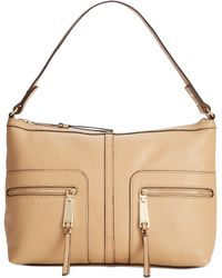 Tommy Hilfiger T Group Leather Hobo - Lyst