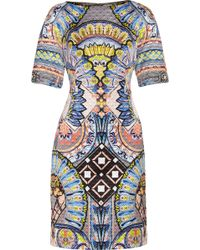 Temperley London Merida Quilted Sateen Dress - Lyst
