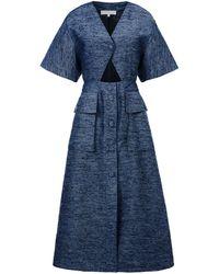 Stella McCartney Blue Heron Dress - Lyst