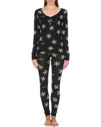 Wildfox Snowflake Pyjama Set - Lyst