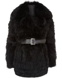 MICHAEL Michael Kors Reversible Fur Coat - Lyst