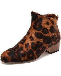 Beau Coops | Beau 5 Booties  Leopard | Lyst