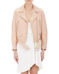 Acne | Mock Leather Jacket | Lyst