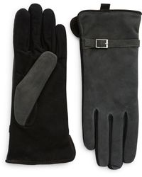 Grandoe | Suede Touch Gloves | Lyst