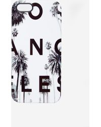 Asos Iphone 5 Cover with Los Angeles Print - Lyst