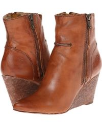Frye Regina Seam Wedge - Lyst