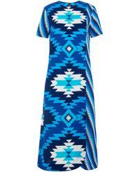 House of Holland | Long Wrap Dress | Lyst