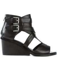 Ash Black 'Naomi' Sandals - Lyst