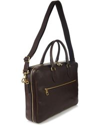 Mulberry Heathcliffe Leather Briefcase - Lyst