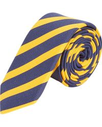Barneys New York Stripe Tie - Lyst