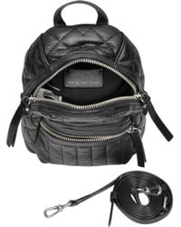 Marc By Marc Jacobs - Domo Biker Quilted Leather Crossbody - Lyst