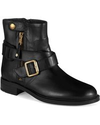 Carvela Kurt Geiger Saturn Buckled Boots - Lyst