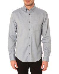 Menlook Label Owen Blue Button Down Collar Shirt - Lyst