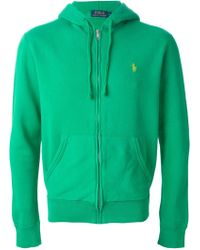 Polo Ralph Lauren Embroidered Logo Hoodie - Lyst