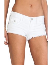 True Religion Joey Cut Off Short - Lyst