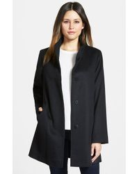 Fleurette Piacenza Wool-Blend Car Coat - Lyst
