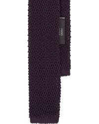 Ralph Lauren Black Label Crochet Tie - Lyst