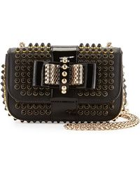 Christian Louboutin Sweet Charity Mini Spiked Shoulder Bag - Lyst