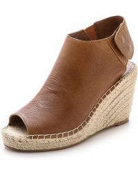 Steven Starry Wedge Sandals - Lyst