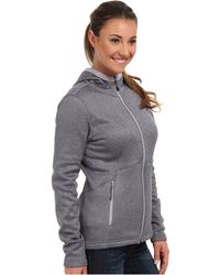 The North Face Gray Agave Hoodie - Lyst