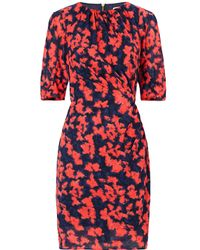 Whistles Jocelyn Blotted Floral Bodycon - Lyst